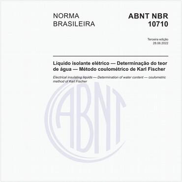 NBR10710 de 05/2006