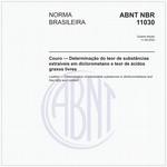 NBR11030