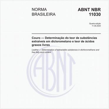 NBR11030 de 08/2013
