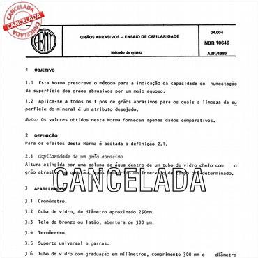 NBR10646 de 04/1989