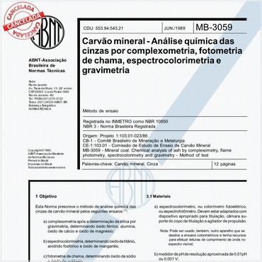 NBR10850 de 06/1989