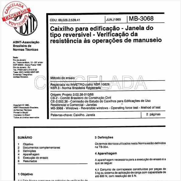 NBR10826 de 08/2000