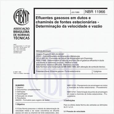 NBR11966 de 07/1989