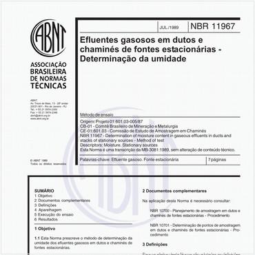 NBR11967 de 07/1989