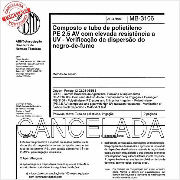 NBR11971 de 10/2005