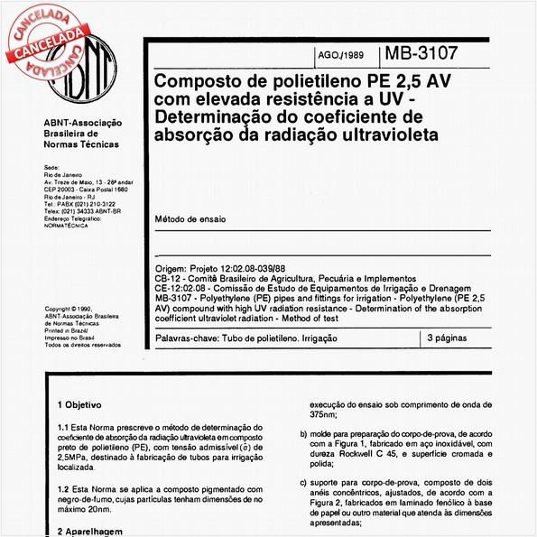 NBR11972 de 05/2012