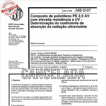 NBR11972 de 08/1989