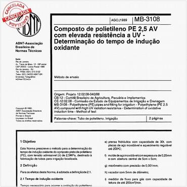NBR11973 de 08/1989