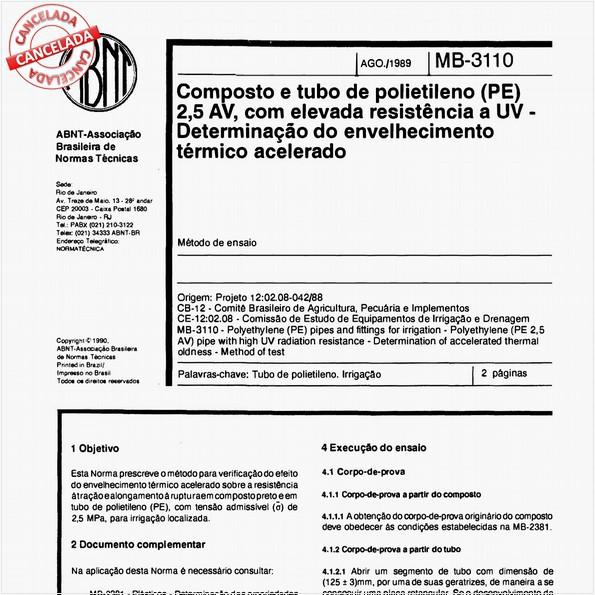 NBR11975 de 05/2012