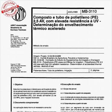 NBR11975 de 08/1989