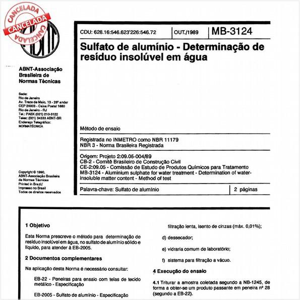 NBR11179 de 06/2013