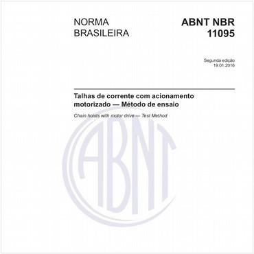NBR11095 de 01/2016