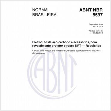 NBR5597 de 09/2013