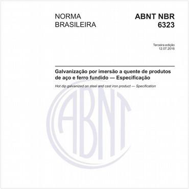 NBR6323 de 07/2016