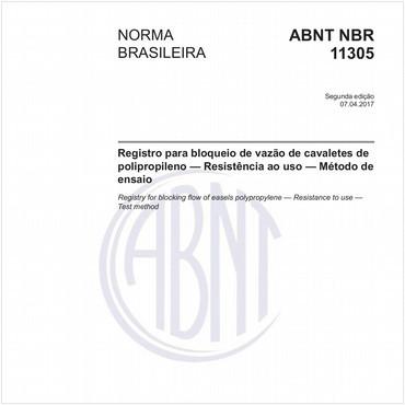 NBR11305 de 04/2017