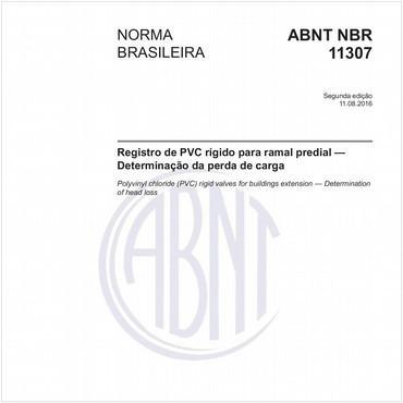 NBR11307 de 08/2016