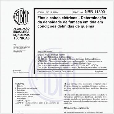 NBR11300 de 05/1990