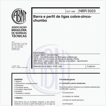 NBR5023 de 10/1982