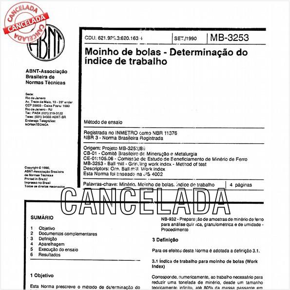 NBR11376 de 05/2011