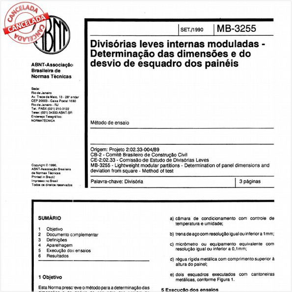 NBR11674 de 07/2015