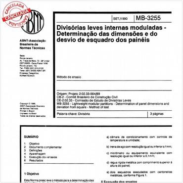 NBR11674 de 09/1990
