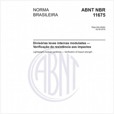 NBR11675 de 08/2016