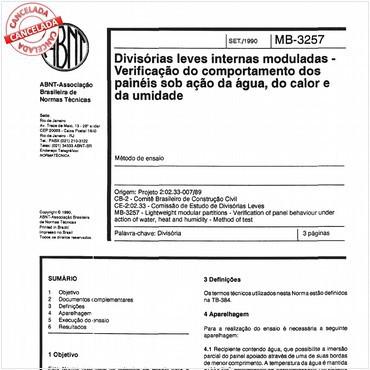 NBR11676 de 09/1990