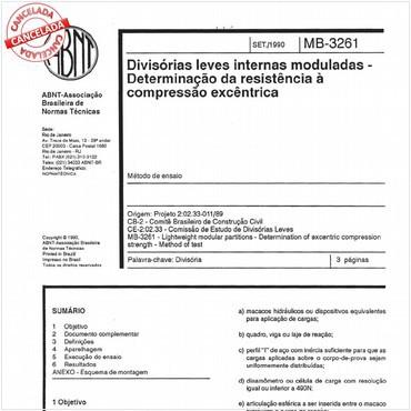 NBR11680 de 09/1990