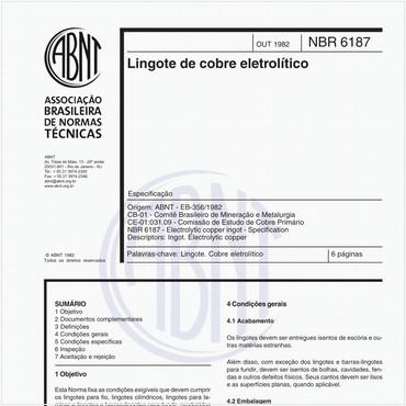 NBR6187 de 10/1982