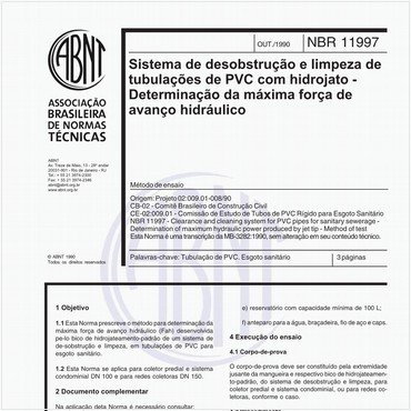 NBR11997 de 10/1990