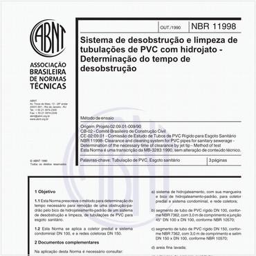NBR11998 de 10/1990