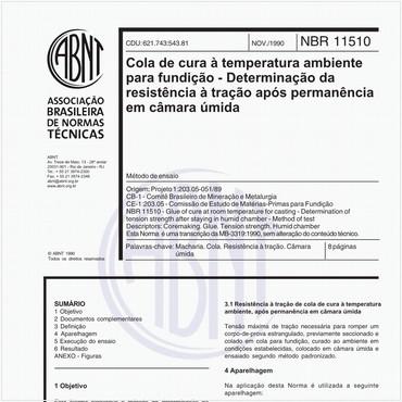 NBR11510 de 11/1990