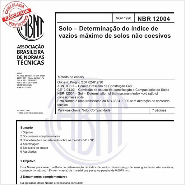 NBR12004 de 07/2015