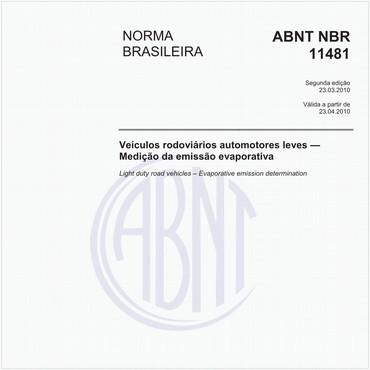 NBR11481 de 03/2010