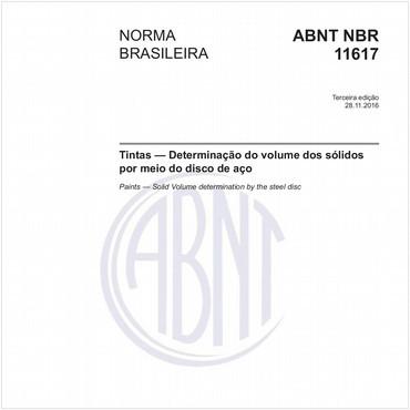 NBR11617 de 11/2016