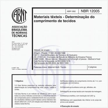 NBR12005 de 04/1992