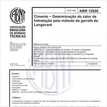 NBR12006 de 11/1990