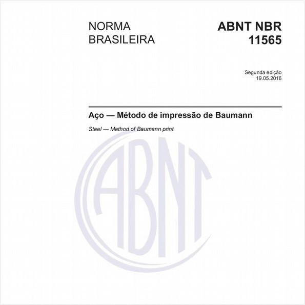 Aço - Método de impressão de Baumann