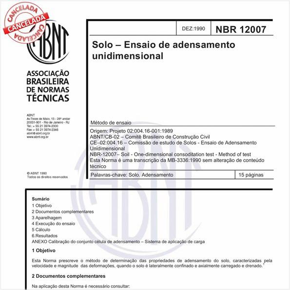 NBR12007 de 07/2015