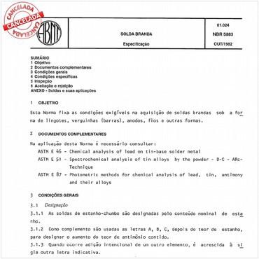NBR5883 de 10/1982