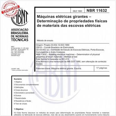 NBR11632 de 12/1990