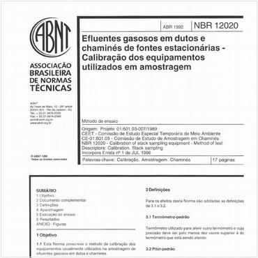 NBR12020 de 04/1992