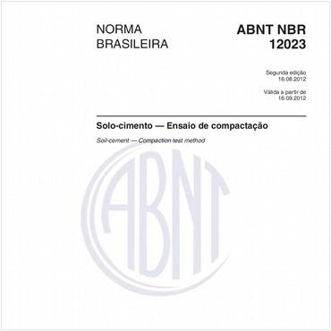 NBR12023 de 08/2012