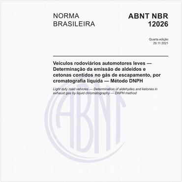 NBR12026 de 08/2016