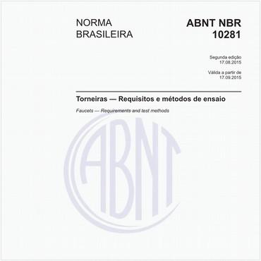 NBR10281 de 08/2015