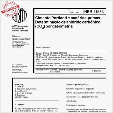 NBR11583 de 07/1991