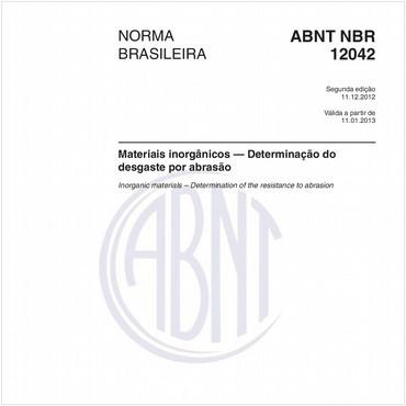 NBR12042 de 12/2012
