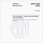 NBR12045 de 08/2018