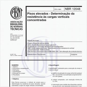 NBR12048 de 02/1991