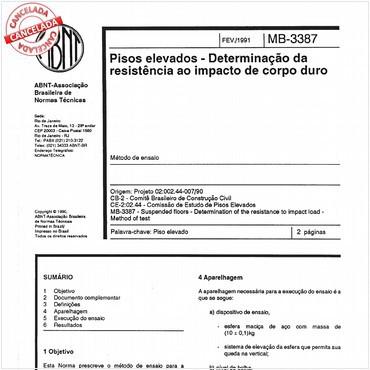 NBR12050 de 02/1991